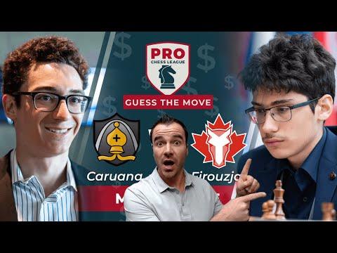 Alireza Firouzja Wins PRO Chess Brilliancy Vs Caruana!