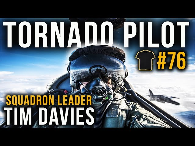 Tornado Pilot | Tim Davies | Fast Jet Performance | Royal Air Force | RAF