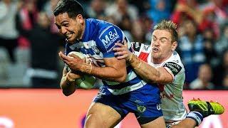 NRL Highlights: St George Illawarra Dragons v Canterbury Bulldogs - Round 24