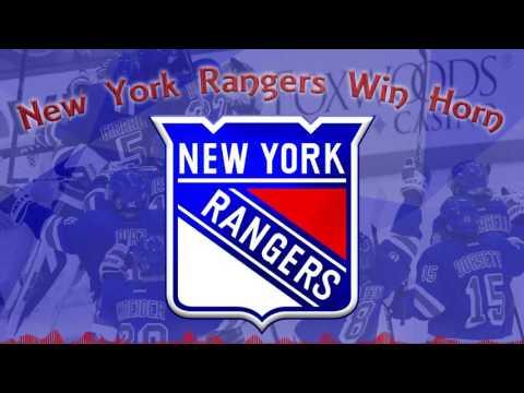 New York Rangers Win Horn