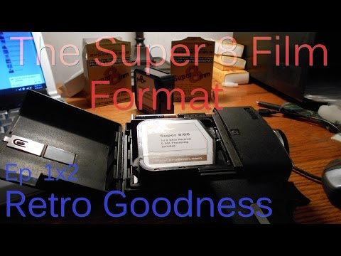 The Super 8 Film Format - Retro Goodness