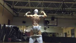 2.5 Weeks Out:Posing:  Beware of Underwear