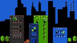 "[TAS] NES Rampage ""Pacifist George in California"" playaround"