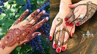 Beautiful Mehandi design    Simple/Easy mehndi designs 2018    simple arabic mehndi designs