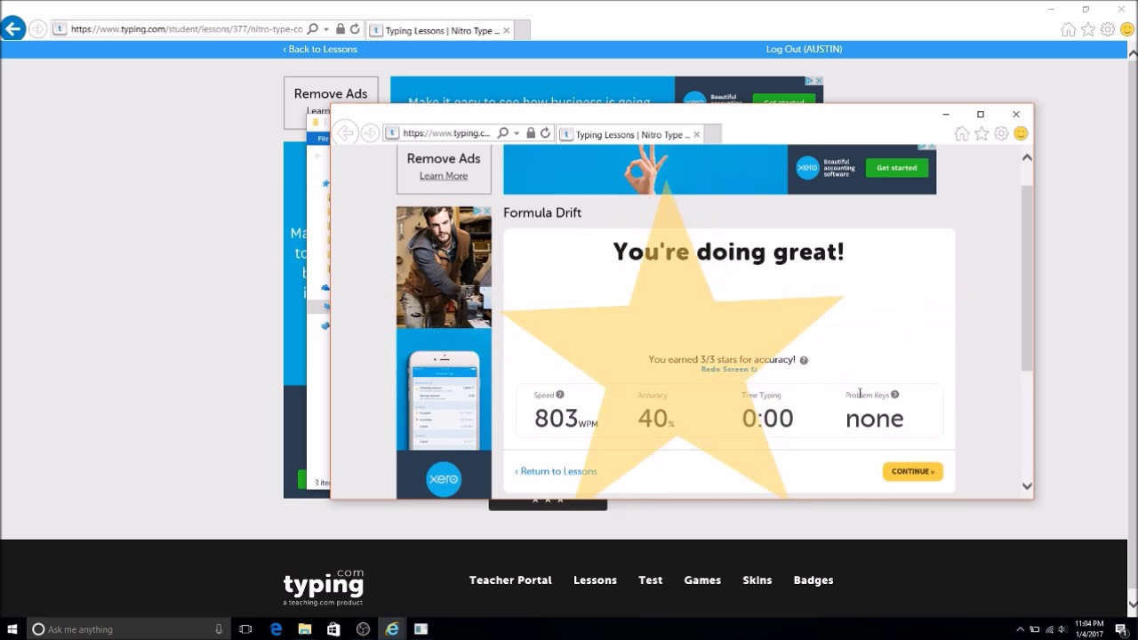 Typing.com Hack V2.0 -Not Inspect Element- - YouTube