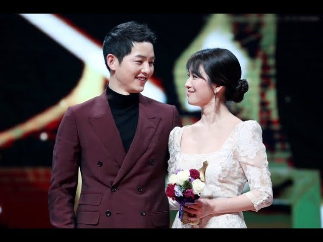 SONG JOONG KI EXPRESSED THAT HE LOVES SONG HYE KYO