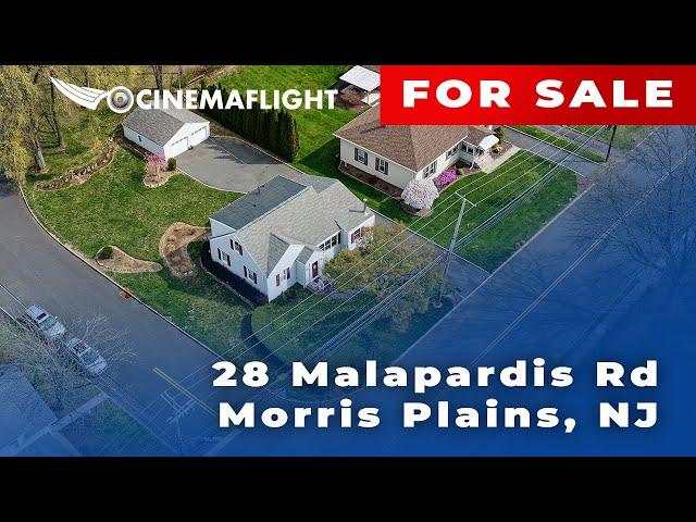 Cinemaflight Property Tours   28 Malapardis Rd, Morris Plains, NJ