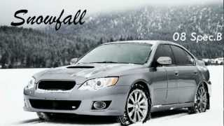 Subaru Legacy Spec B Snow Drifting HD