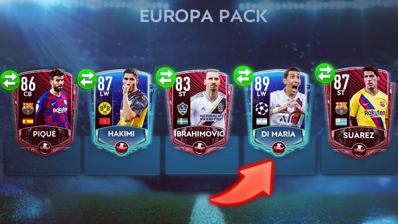 BEST PACK OPENING IN FIFA MOBILE 20 - TOP 10 PACK OPENING BY ITZ TROBEY - YouTube