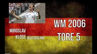 WM Torschützenkönige 1982-2014