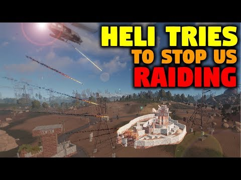 Heli tries to stop us Raiding... GUESS AGAIN | Unstoppable