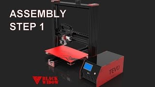 TEVO Black Widow V3 assembly - STEP 1