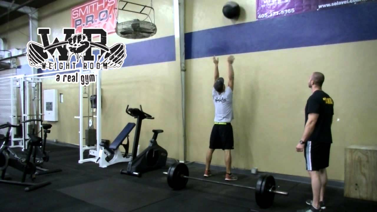 Rob grupe personal trainer at the weight room oklahoma city