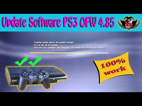 Cara Mudah Update Software PS3 OFW Super Slim HFW 4.85 Secara Offline