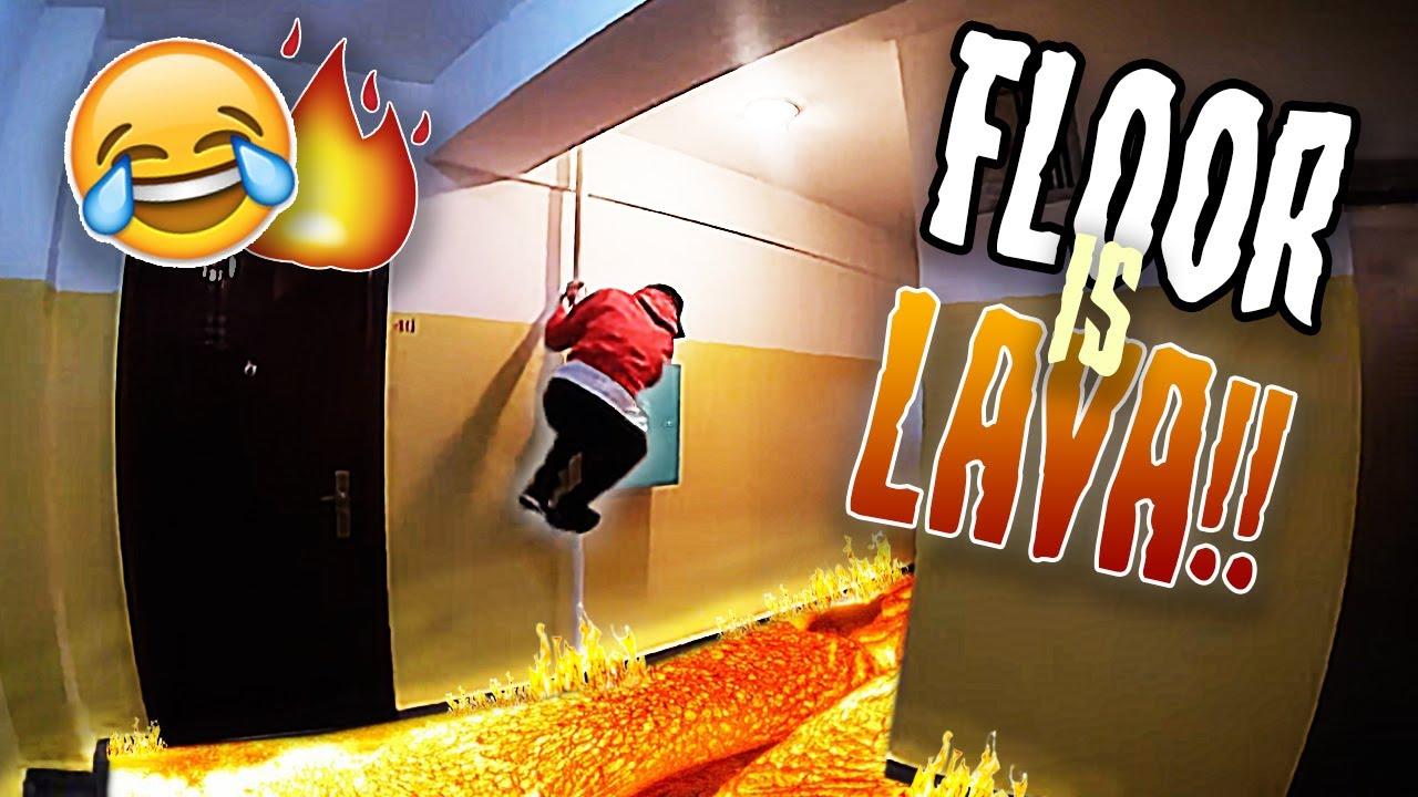 Ganzen tag der boden ist lava challenge in asien for Boden ist lava