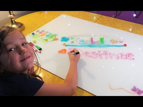 co-z-magnetic-glass-dry-erase-board-set-review-&-giveaway-winner