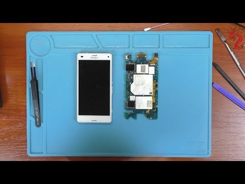 Sony  Xperia Z3 Compact //Не работает камера - чёрный экран