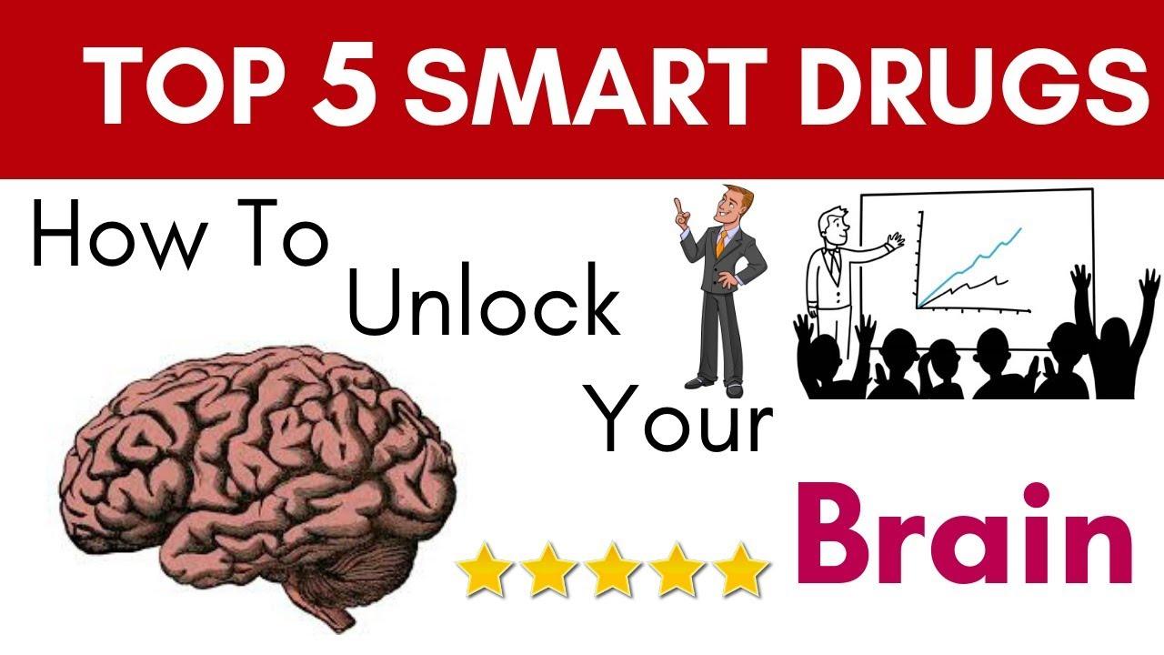 Top 5 Smart Drugs - How To Hack Your Brain (Nootropics) SPEED 1 25X