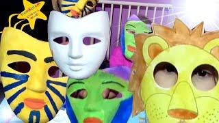 çocuklar Için Maske Nasıl Yapılır