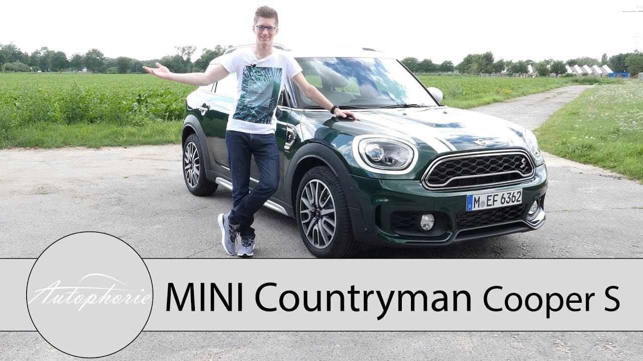 Mini Countryman Cooper S F60 Fahrbericht Das Beste Kompakt Suv