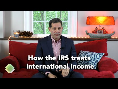 How The IRS Treats International Taxpayers And Returns