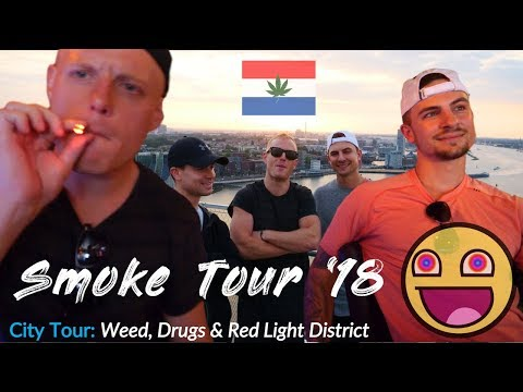 COFFEESHOPS IN AMSTERDAM.. 2018!! 🇳🇱VLOGumentary: Weed, Drug Laws & Red Light District (Ep.3)