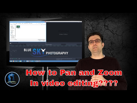 How to pan and zoom in movavi video editor ??? Video editing easy and effectively !!!