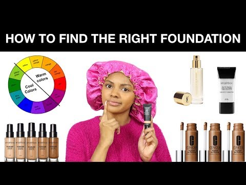 How To Find The RIGHT Foundation | Jazzie Jae T