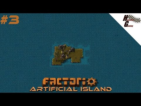 """""""Starting the Production"""" Factorio - Artificial island series #3.1"""