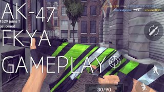 Critical ops| Ak 47 Fkya Gameplay!