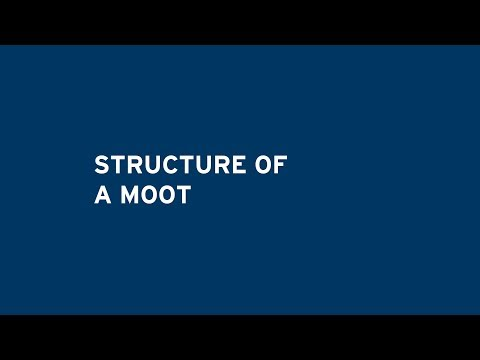 Structure of a Moot