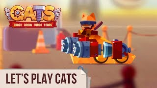 Let's Play C.A.T.S: Crash Arena Turbo Stars (Live Stream #76)