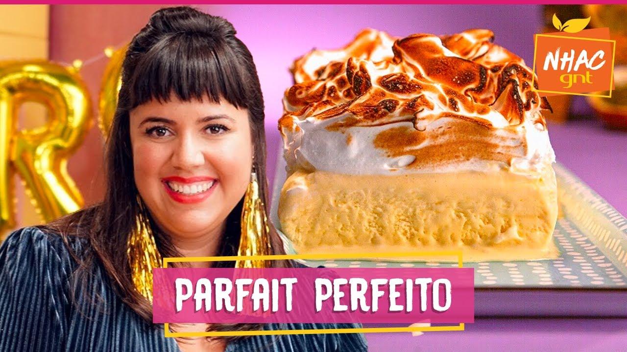 Torta gelada de maracujá com merengue tostado | Raíza Costa | Rainha da Cocada