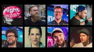 NightWash vom 04.02.2019 mit Simon, Sven, Ingmar, Oliver, Jamie, Bätz, Freddi, C. und Johann