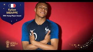 FIFA YOUNG PLAYER AWARD - Kylian Mbappe - FIFA World Cup™ Russia 2018