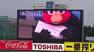 2018年5月6日(日)明治神宮球場 東京ヤクルトスワローズ vs 広島東洋カ...