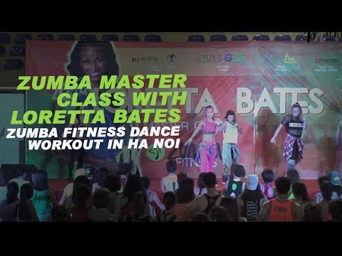Like so | Zumba Master Class with Loretta Bates | Michelle Vo |Zumba Fitness Dance Workout in Ha Noi