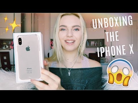 UNBOXING THE IPHONE X 馃槺馃摫