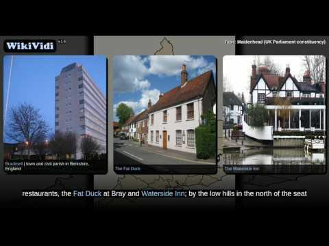 Maidenhead (UK Parliament constituency) - WikiVidi Documentary