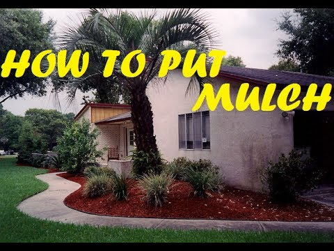 How To Put Mulch On Your Yard How To Use A Shovel And Pick Bonus