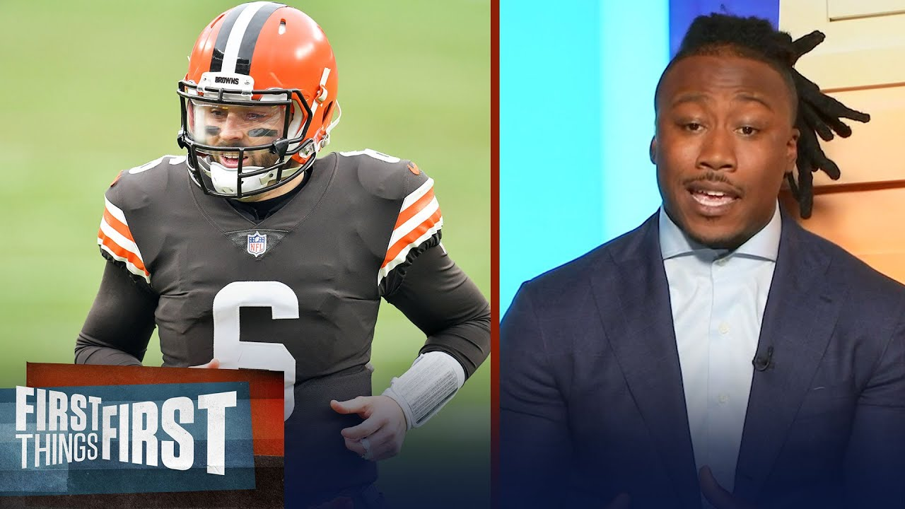 Baker Mayfield isn't ready to lead the Browns to Super Bowl — Brandon   NFL   FIRST THINGS FIRST