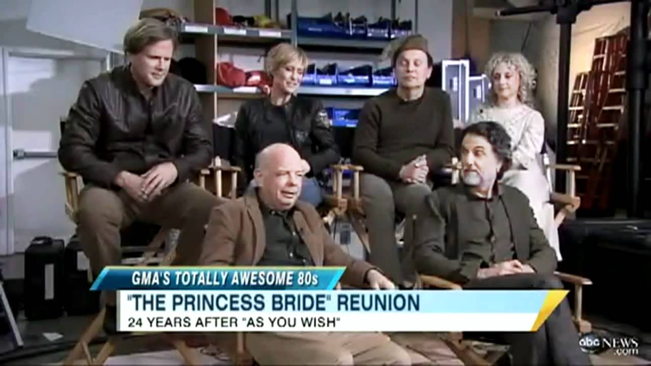 Good Morning Princess In Russian : A princess bride reunion on good morning america from