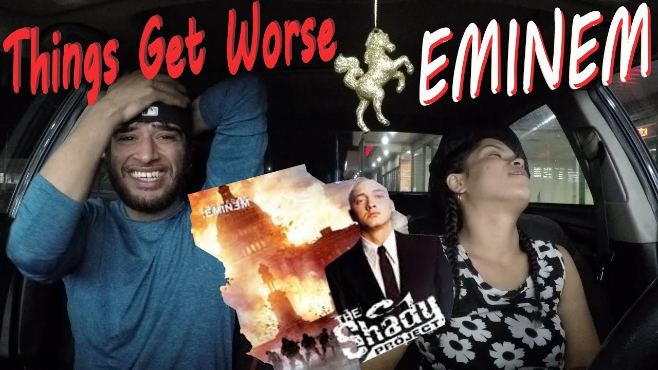 EMINEM | THINGS GET WORSE | THE SHADY PROJECT | REACTION REACTION🙏💕