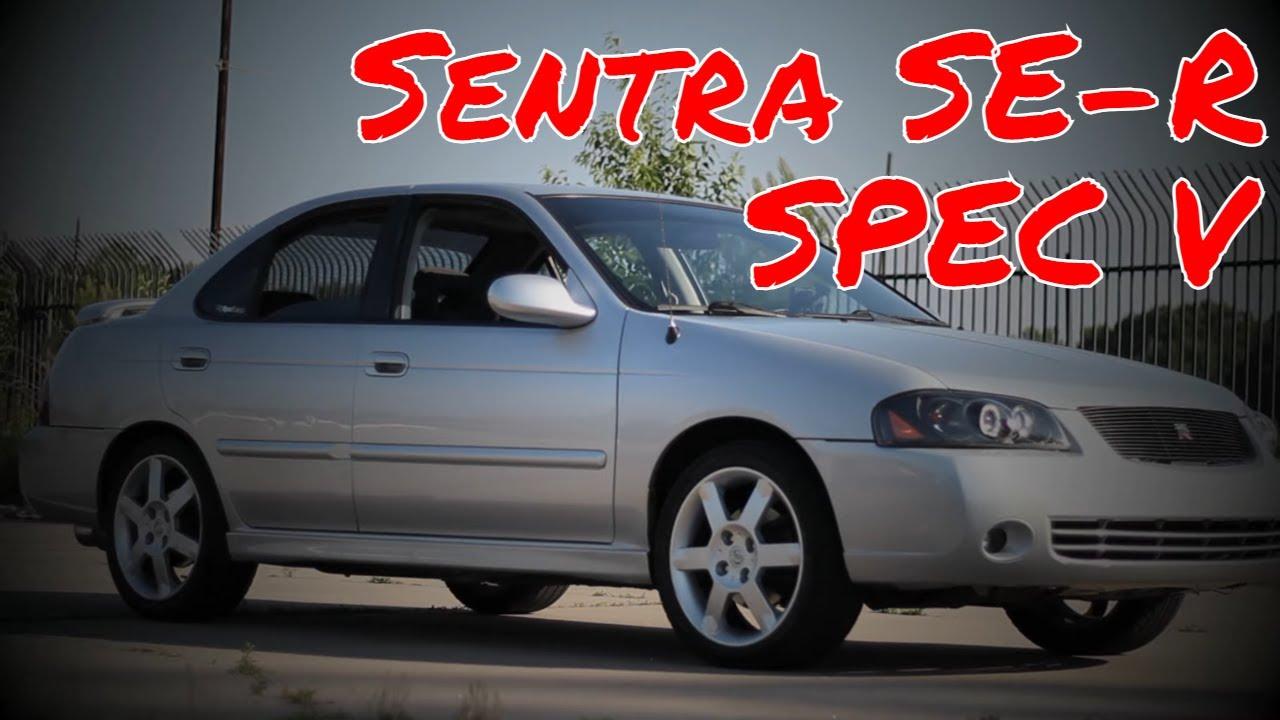 2006 Nissan Sentra SER Spec V  YouTube
