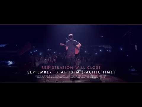 Niall Horan Flicker World Tour 2018 #VerifiedFan Presale