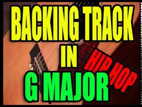 Backing Track - Hip Hop - Ballad - G major
