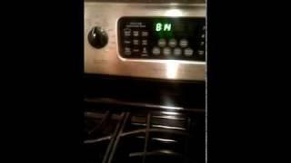 my frigidaire oven goes beep beep beep