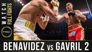 Benavidez vs Gavril 2 FULL FIGHT: February 17, 2018 - PBC on Showtime