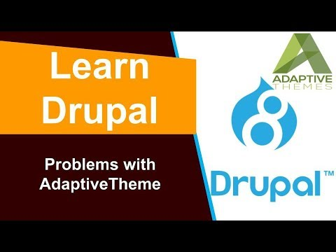 Drupal - Problems with the Adaptive Theme thumbnail
