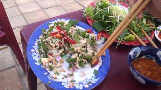 How To Eat Goi Ca Fish Salad In Vietnam